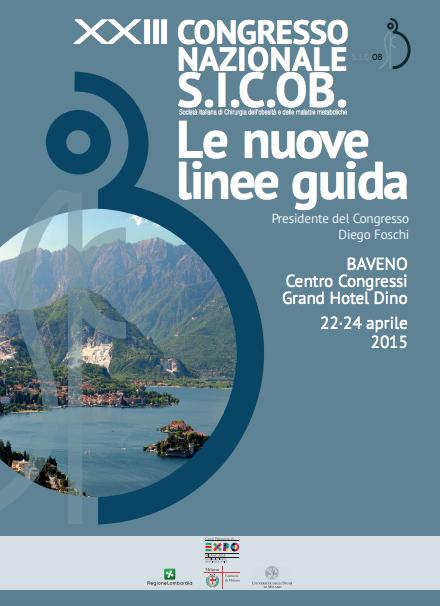 100 Congresso SICOB 22-23-24 aprile 2015